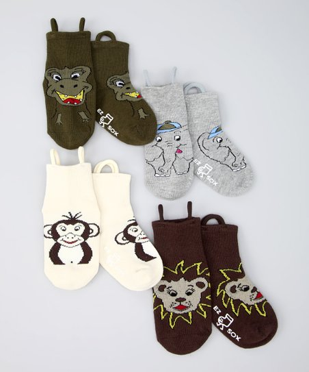 Jungle & Wild Friends Socks Set