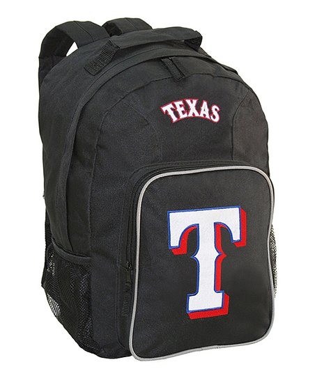 Texas Rangers Black Southpaw Backpack