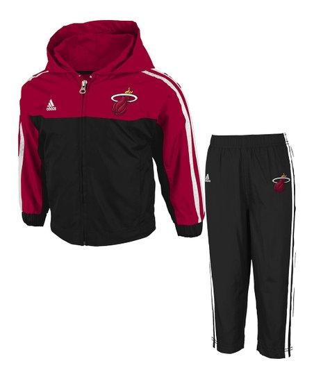 Miami Heat Zip-Up Jacket & Pants - Infant