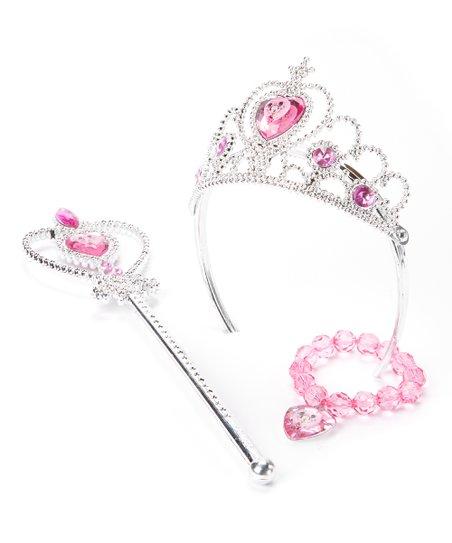 Pink Minnie Mouse Tiara Set