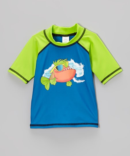 Royal Kool Fish Rashguard - Infant, Toddler & Boys