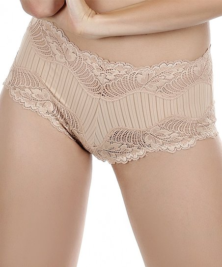 Fawn Lace Boyshorts - Women & Plus