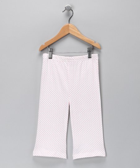 Pink Polka Dot Pants - Infant