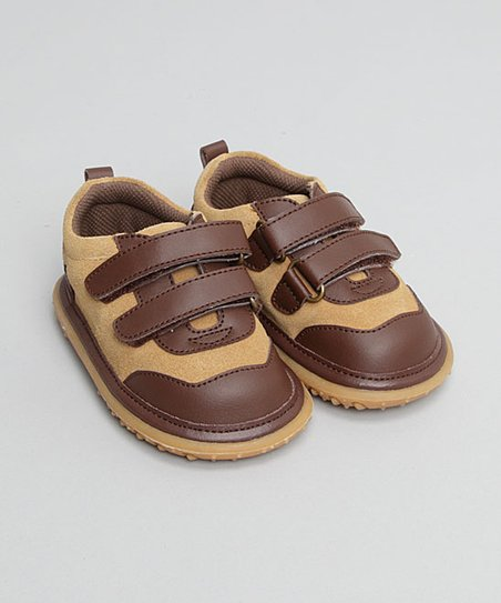 Tan Velcro Shoe