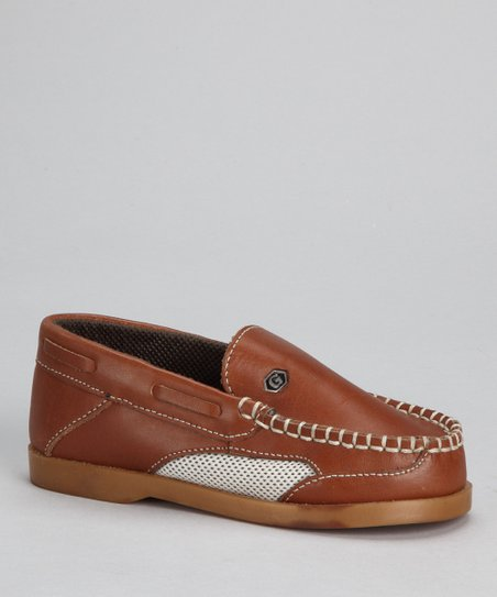 Brown Mesh Loafer