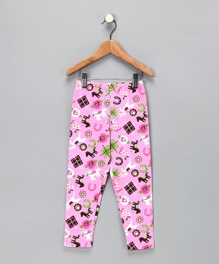 Preppy Pony Pants - Toddler & Girls