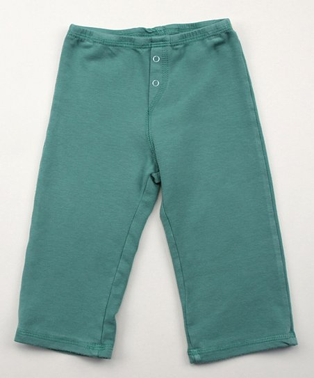 Emerald Green Organic Pants