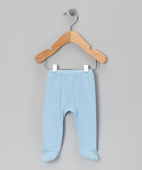 Blue Footie Pants