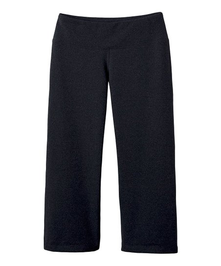 Charcoal Heather Vivi Capri Pants - Women