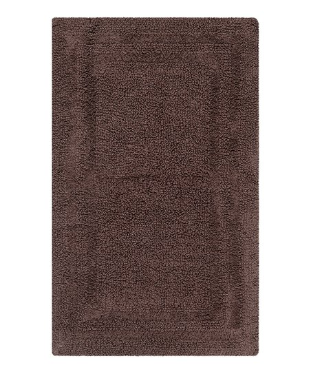 Pincone Path Double Border Bath Rug