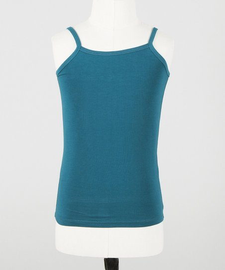 Teal Mini Camisole - Toddler & Girls