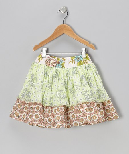 Sweet Sage Addie Skirt - Infant, Toddler & Girls
