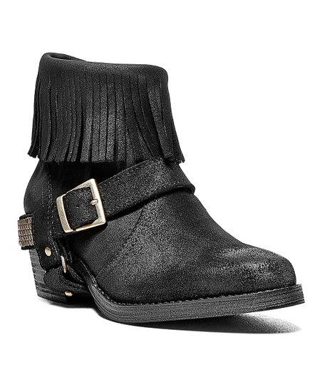 Black Suede Cavvvo Ankle Boot