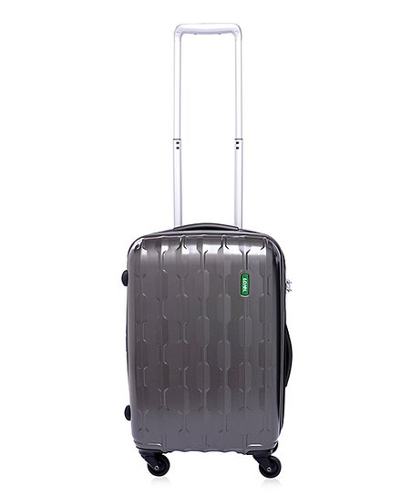 Gray Arrowhead 21.6'' Wheeled Carry-On Travel Case