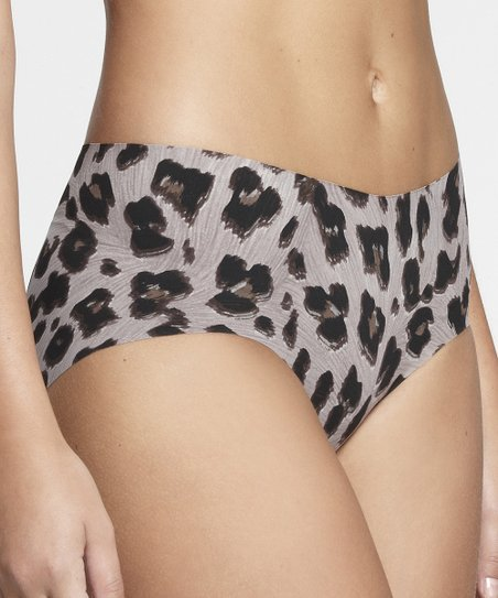 Gray Jaguar Invisible Bikini Briefs - Women