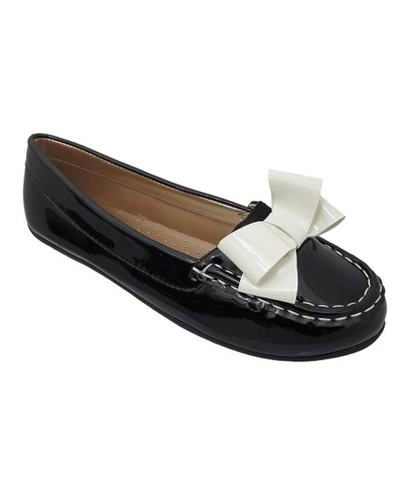 Black Abbie Moccasin