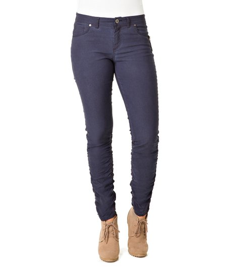 Night Blue Orache Skinny Pants - Women & Plus