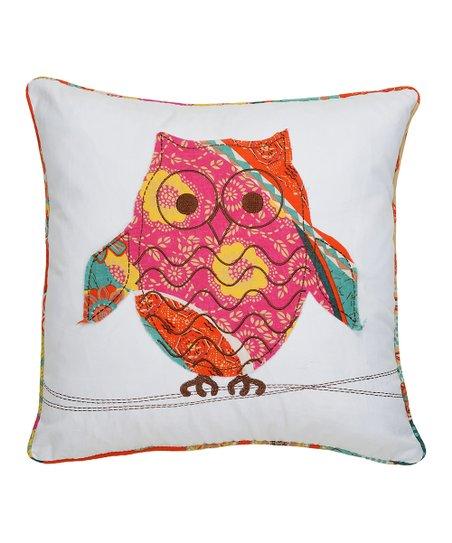 Owl Zanzibar Pillow