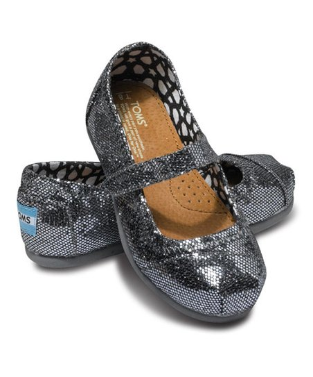 Pewter Glitter Mary Jane - Tiny
