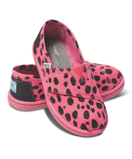 Pink Dalmatian Canvas Vegan Classics - Tiny