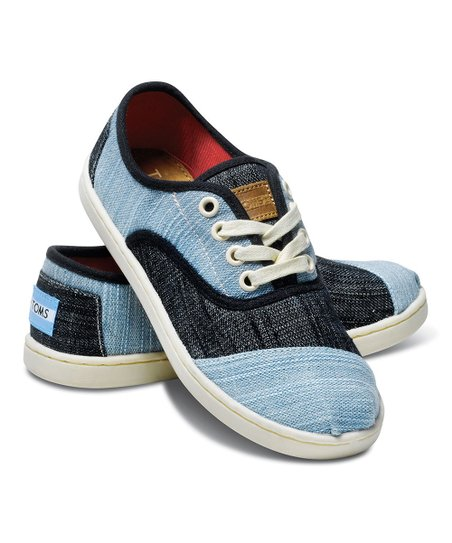 Mixed Denim Cordones - Youth