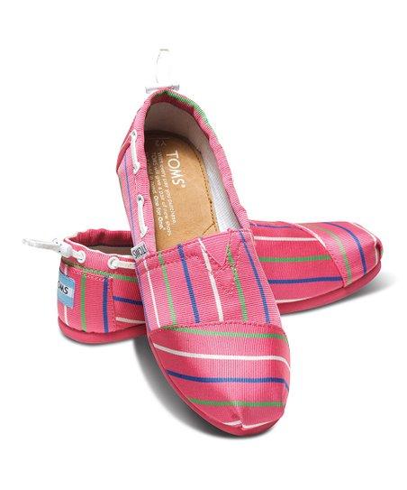 Pink Stripe Vegan Biminis - Youth