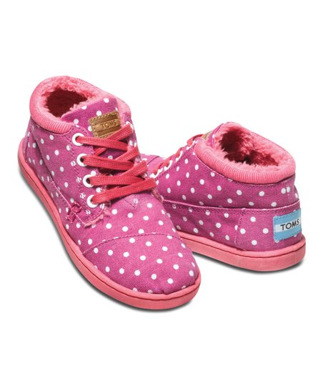 Magenta Dot Botas - Youth