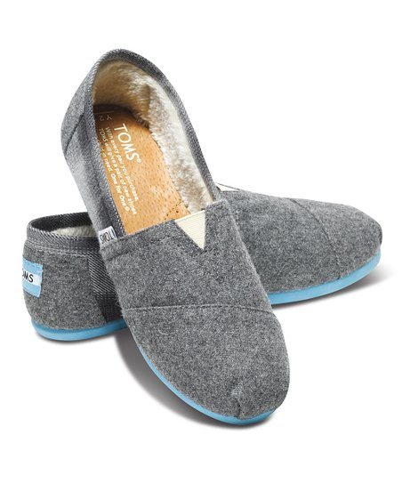 Gray Wool Plaid Classics - Youth