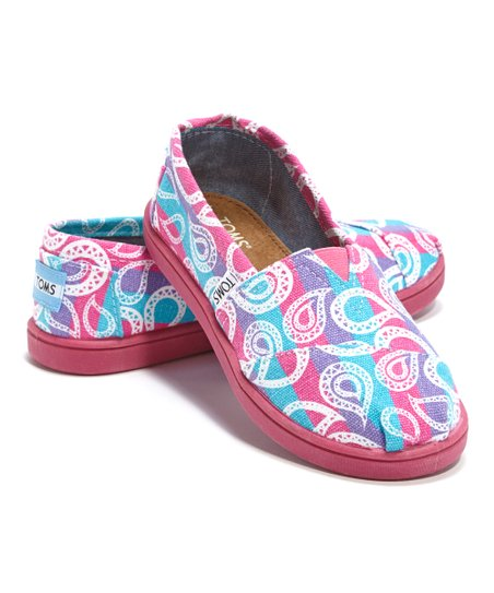 Purple Rainbow Paisley Classics - Youth