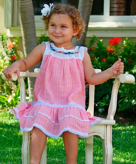 Rose Lucila Dress - Infant, Toddler & Girls
