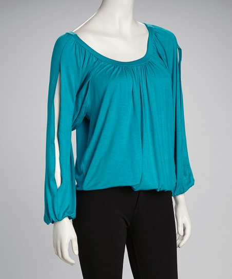 Jade Scoop Neck Top