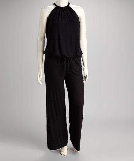 Black Jumpsuit - Plus