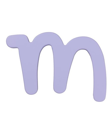 Dreamy Letter M Wall Sign