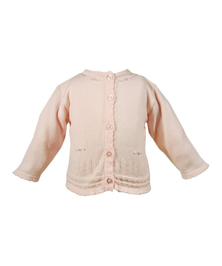Pink Daisy Cardigan - Infant
