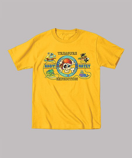 Yellow 'Treasure' Tee - Toddler & Boys
