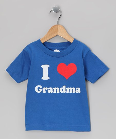 Royal Blue I Love Grandma Tee - Toddler &amp; Kids