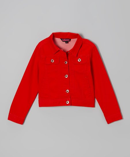 Red Twill Jacket
