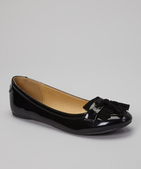 Black Patent Petra Loafer