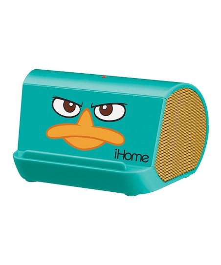 Teal Perry the Platypus Portable Speaker