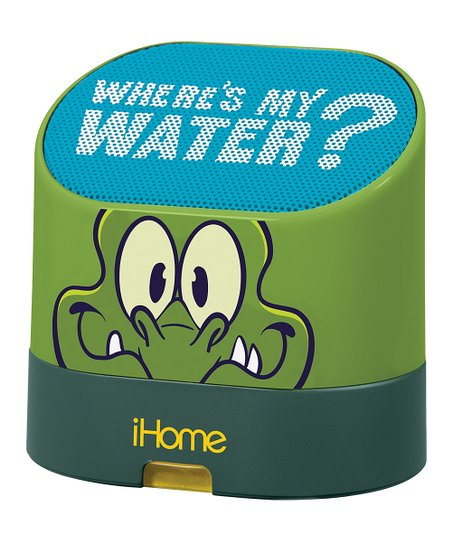 Green 'Where's My Water?' Rechargeable Mini Speaker