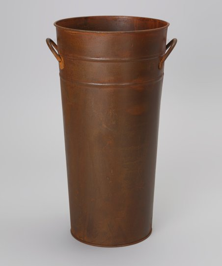 Brown Rustic Bucket Planter