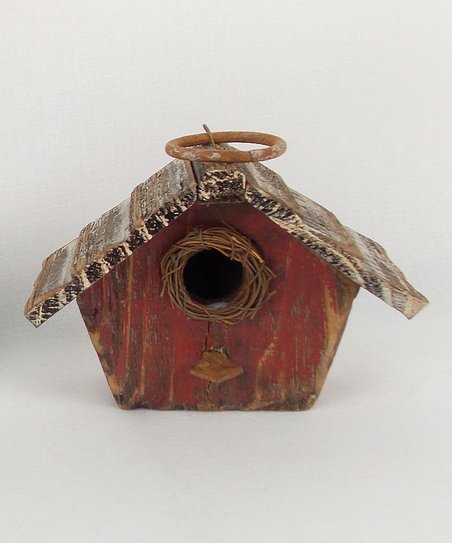 Dark Brown Birdhouse