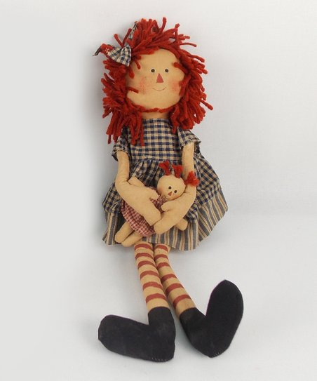Rag Doll Annie Plush Figurine