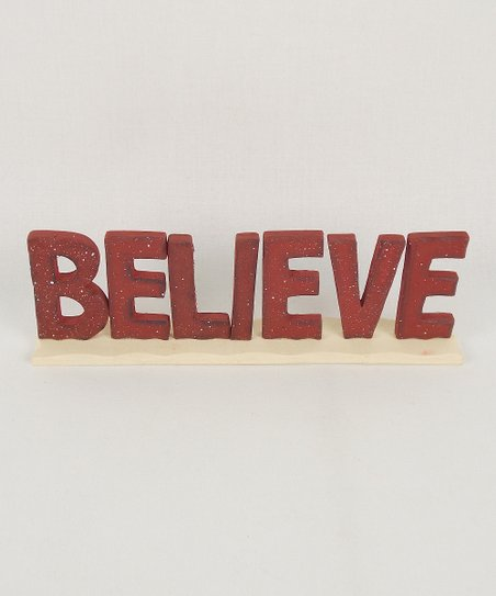 'Believe' Décor