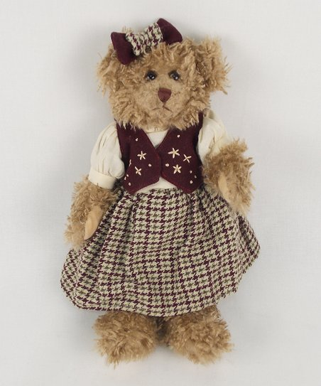 Simply Splendid Bear Plush Figurine