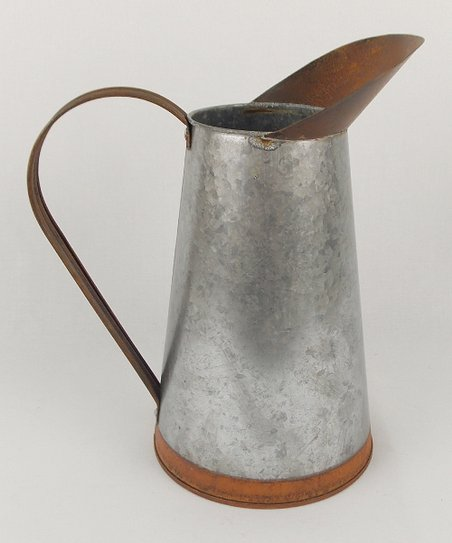 Two-Tonal Tin Pitcher