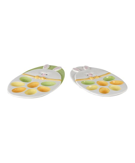 Hip Hop Egg Platter Set