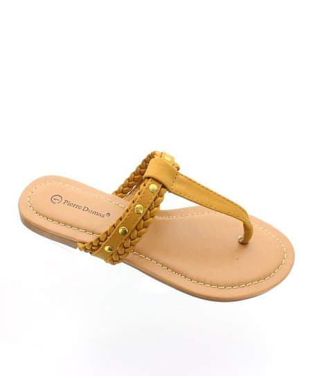 Tan Braid Sandal