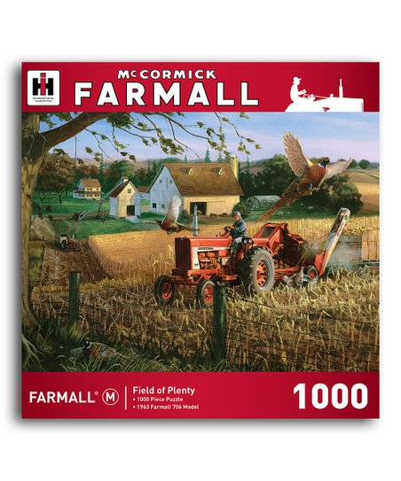 Farmall Field of Plenty Puzzle