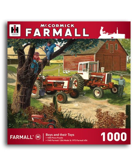 Farmall Boys & Their Toys Puzzle